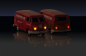 Mobile Preview: 1:87 VW T1 Bus Kastenw. Porsche 2.4G RTR