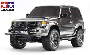 1:10 RC Mitsub. Pajero Black Metal.CC-01 EDITION