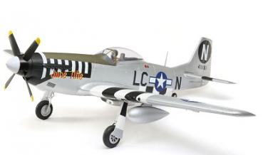 E-Flite P-51D Mustang 1.2m BNF Basic w/AS3X and SS