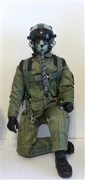 "Modern Jet Pilot Green 1/7 - 1/8 10"" MIT MOVING HEAD FUNKTION"