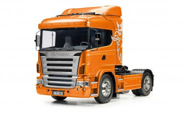 1:14 RC Scania R470 4x2 Orange met.Vorl.