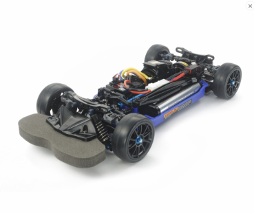 TAMIYA 1:10 RC TT-02RR Chassis Kit - Blue Edition