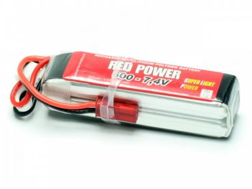 LiPo Akku RED POWER SLP 600 - 7,4V