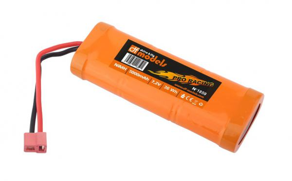 Racing Pack NiMH 7,2V 5000mAh - T-Plug Stecker