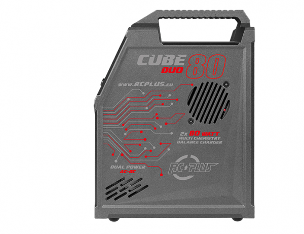 Rc Plus - Cube 80 Duo Charger - AC-DC - 2x 80 Watt