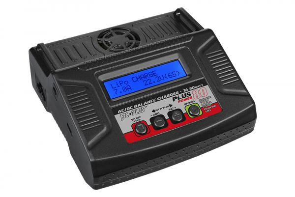 RC Plus - Power Plus Charger ACDC 80 Watt