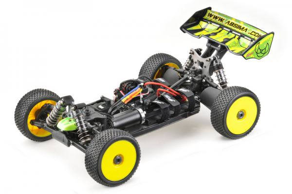 "1:8 EP Buggy ""TR8EV2"" 4WD Brushless RTR"